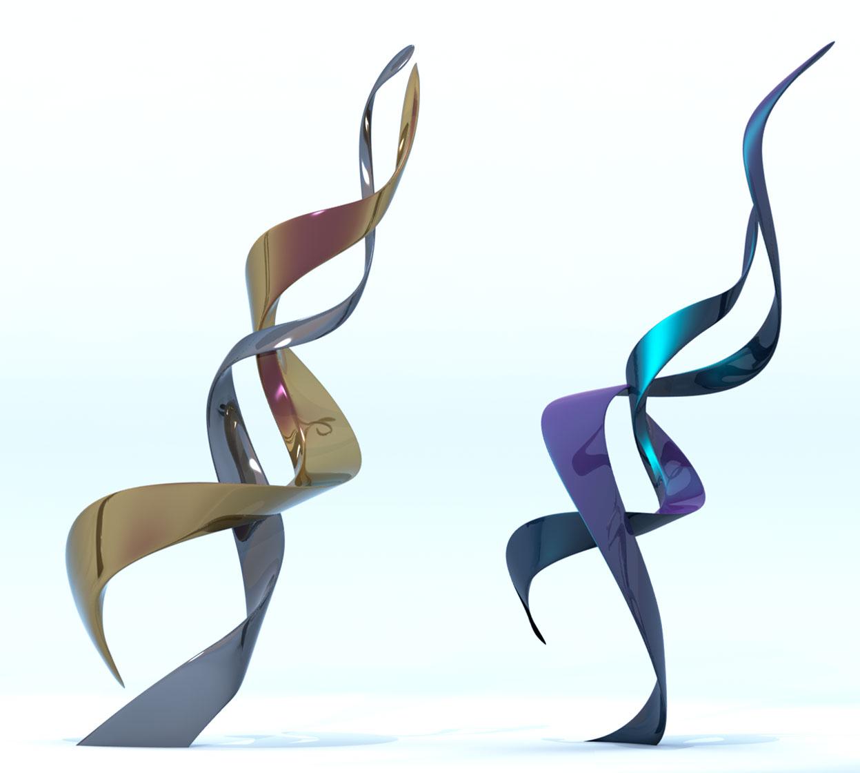 Unity Modern Sculpture - Contemporary Public Art