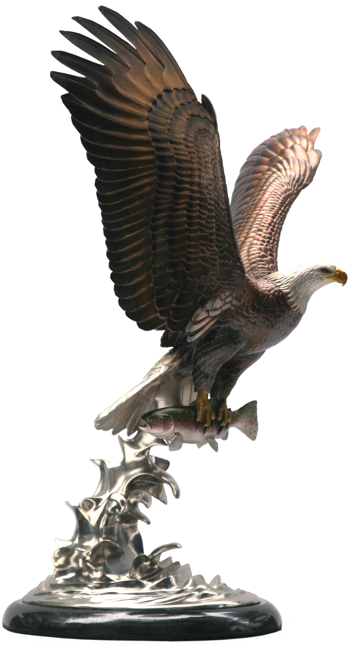 Airborne Eagle Sculpture