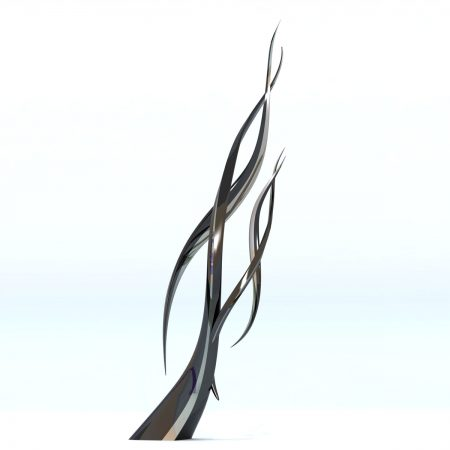 Chromosome-Sculpture-Modern-Contemporary-Monument-Statue