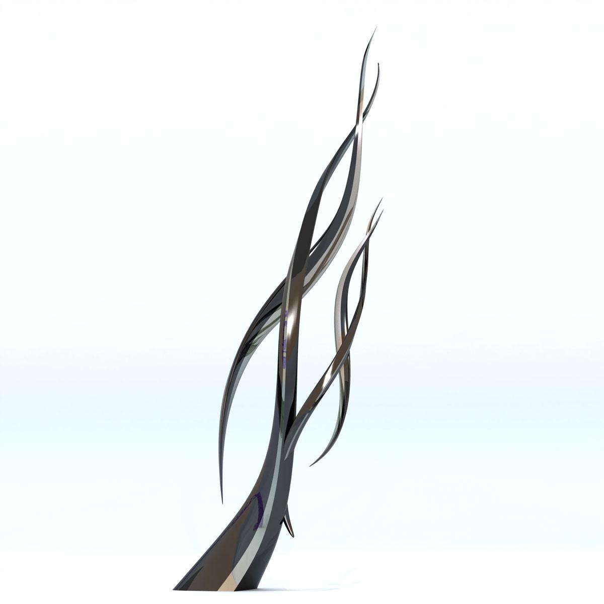 """chromosome""""  modern sculpture – public art  chester fields  - chromosome modern sculpture  contemporary public art"""