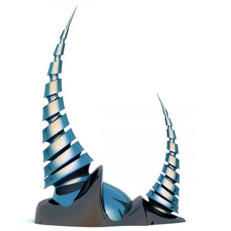 Contemporary-Modern-Thorns-Sculpture-Monument-Statue