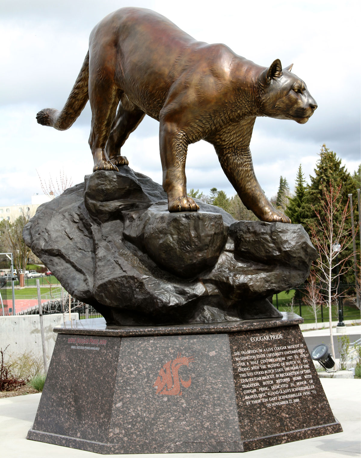 Washington State University Cougar Monument
