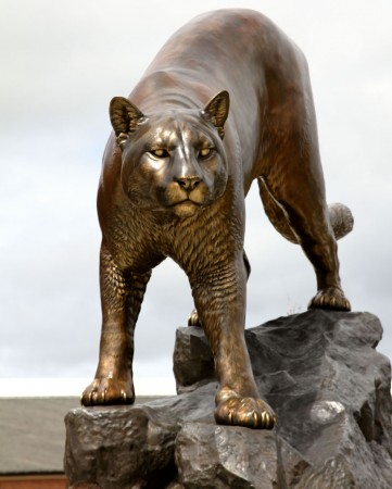 Cougar-Pride-Washington-State-University-Cougar-Sculpture-Statue-Monument
