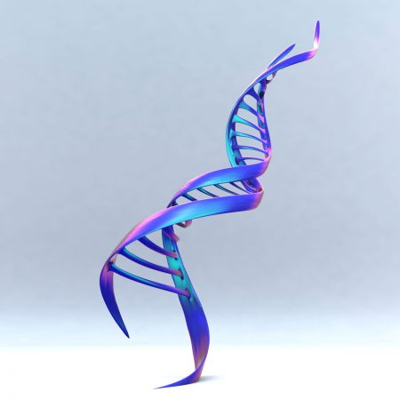 DNA-Ribbon-Sculpture-Modern-Contemporary-Monument-Statue