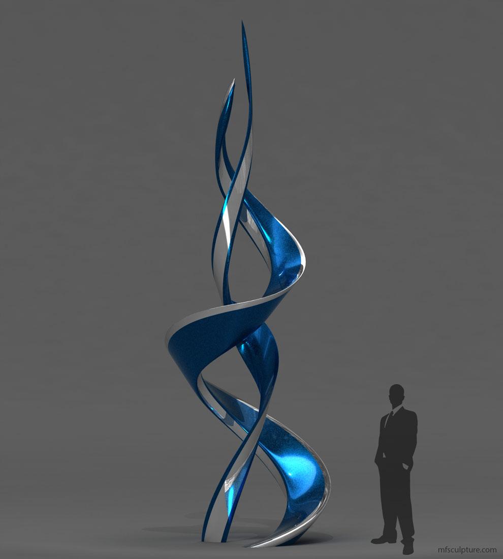 Emergence Modern Sculpture - Contemporary Public Art