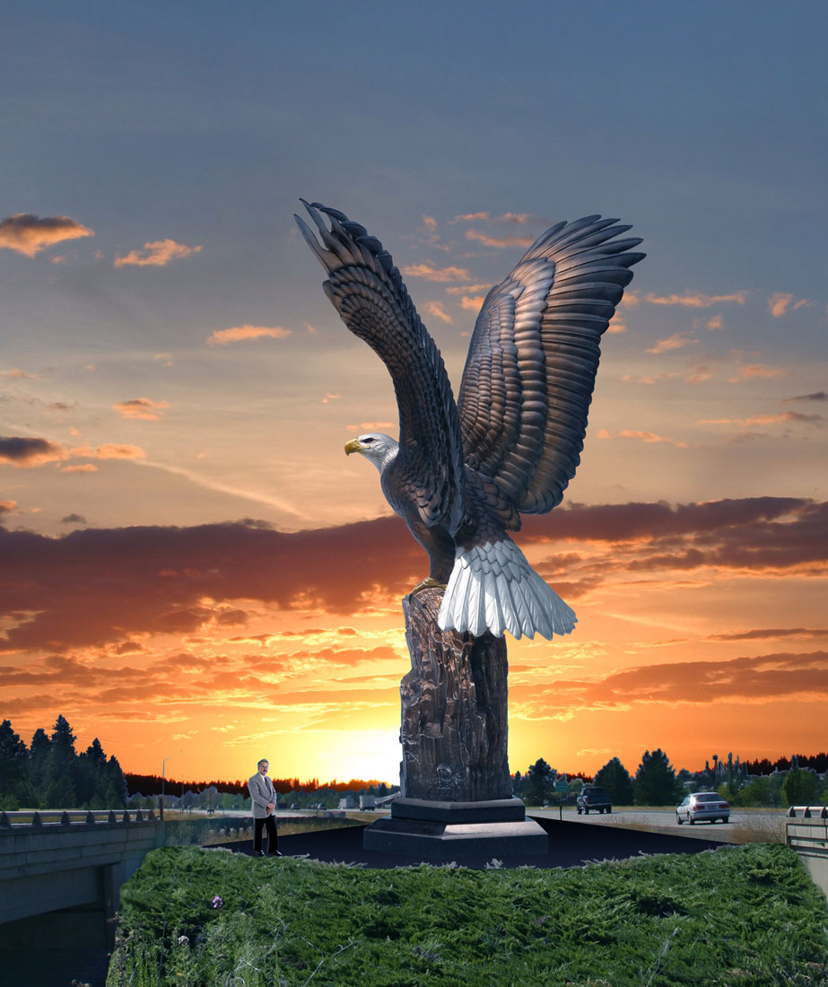 Enduring Spirit Eagle Monument