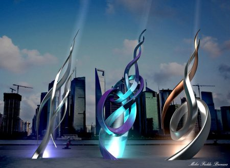 Famous-Modern-Sculpture-lighting-outdoor