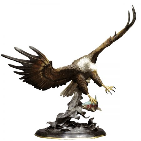 Fly-Fishing-Eagle-Sculpture