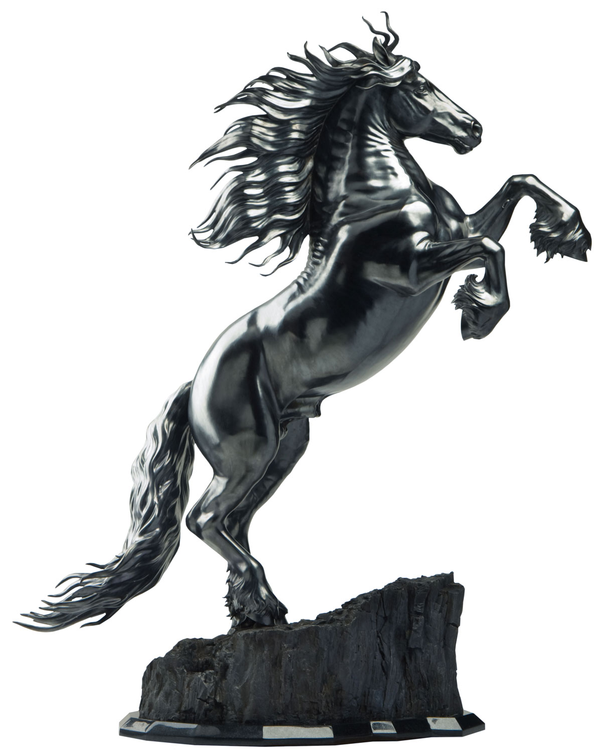 Friedom Friesian Horse Sculpture