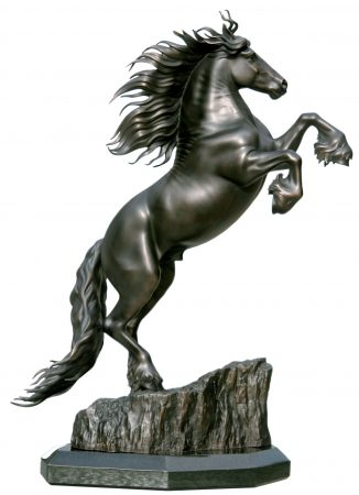 Friesian-Horse-Sculpture-Friedom-Statue