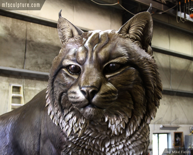 University Mascot Monument