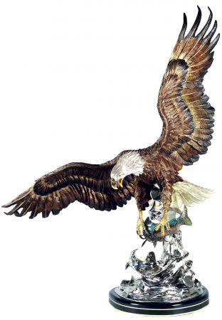 On-the-Wings-of-an-Eagle-Sculpture