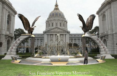 Sentinels-Eagle-Monument-Veterans-Memorial-San-Fransisco-Proposal