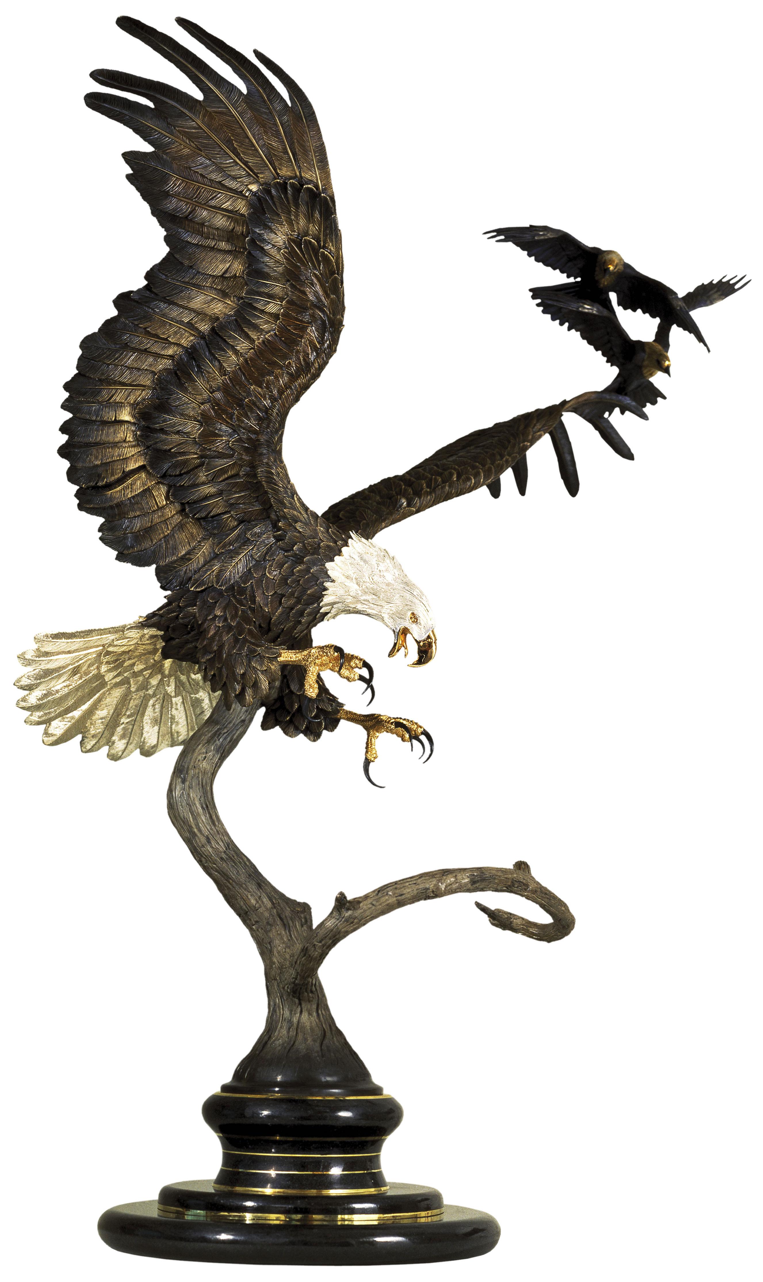 The Hecklers Bronze Eagle Sculpture