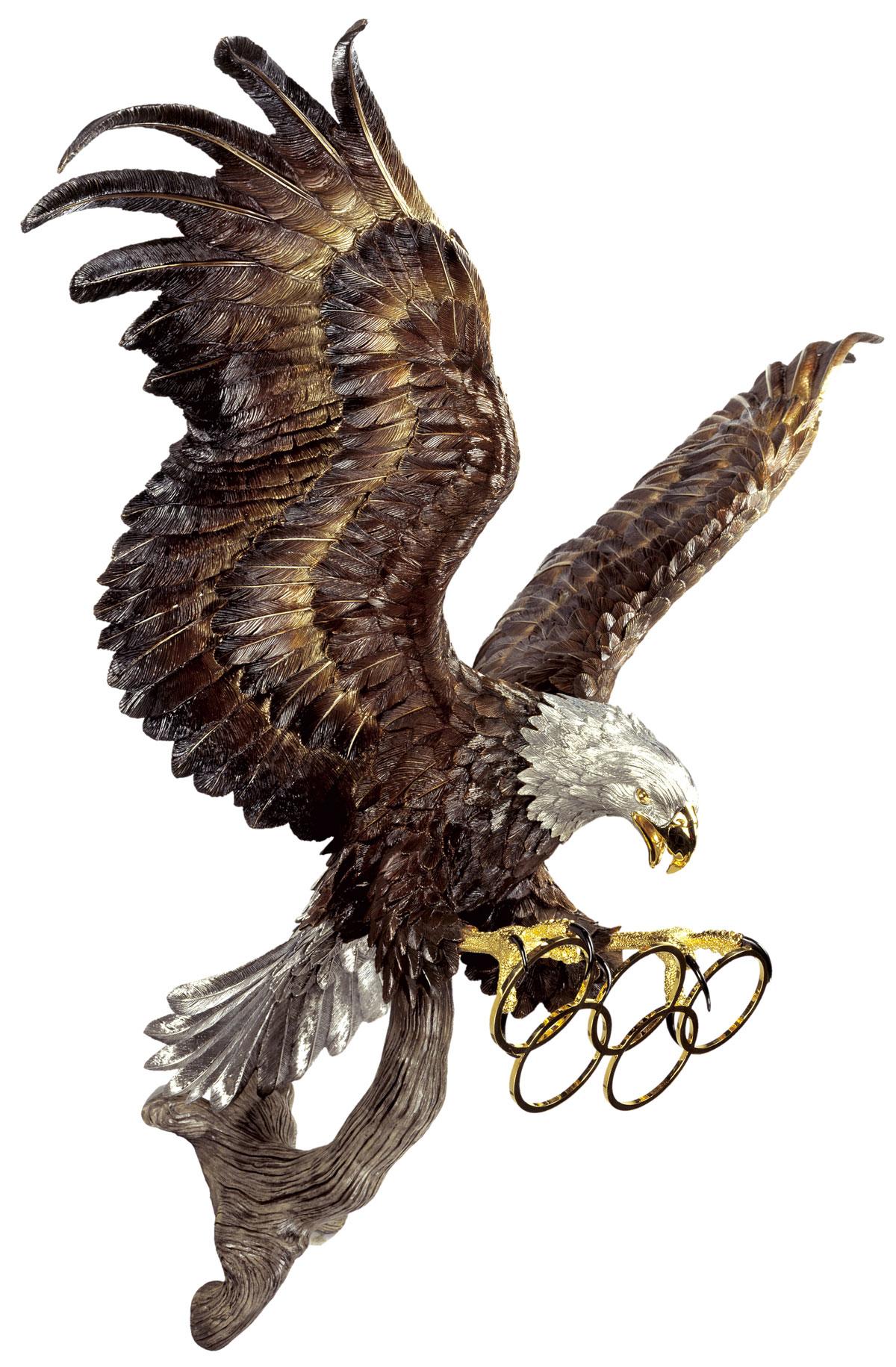 Thunderbird Custom Wall Sculpture - Bronze Eagle Sculpture