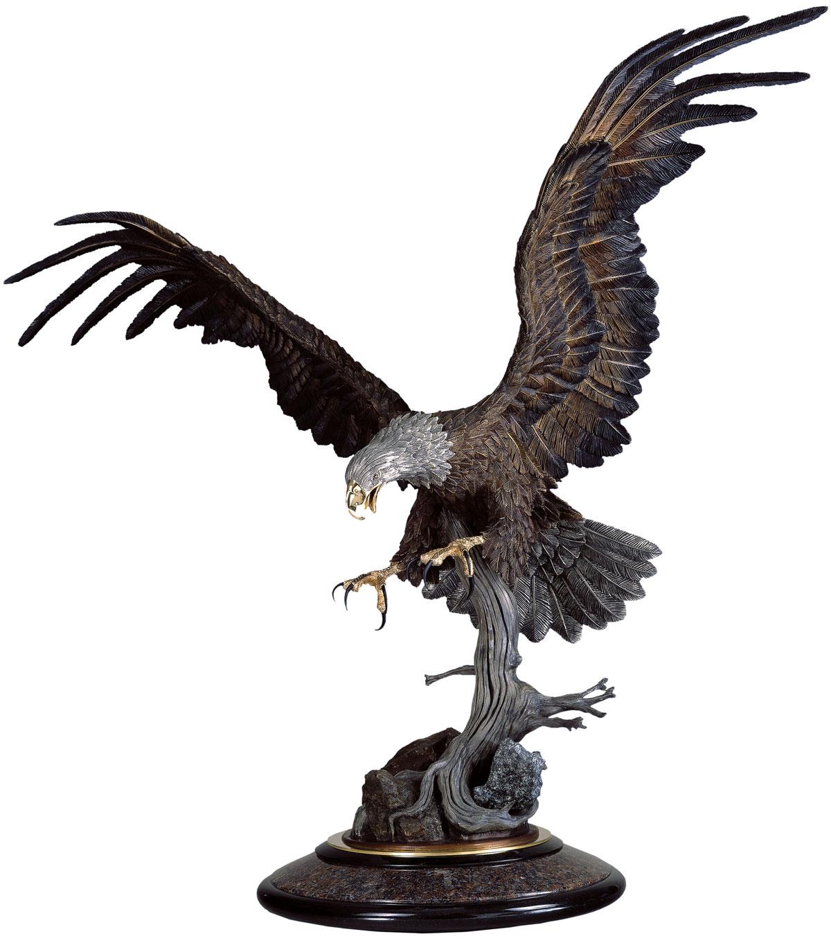 Thunderbird Eagle Sculpture