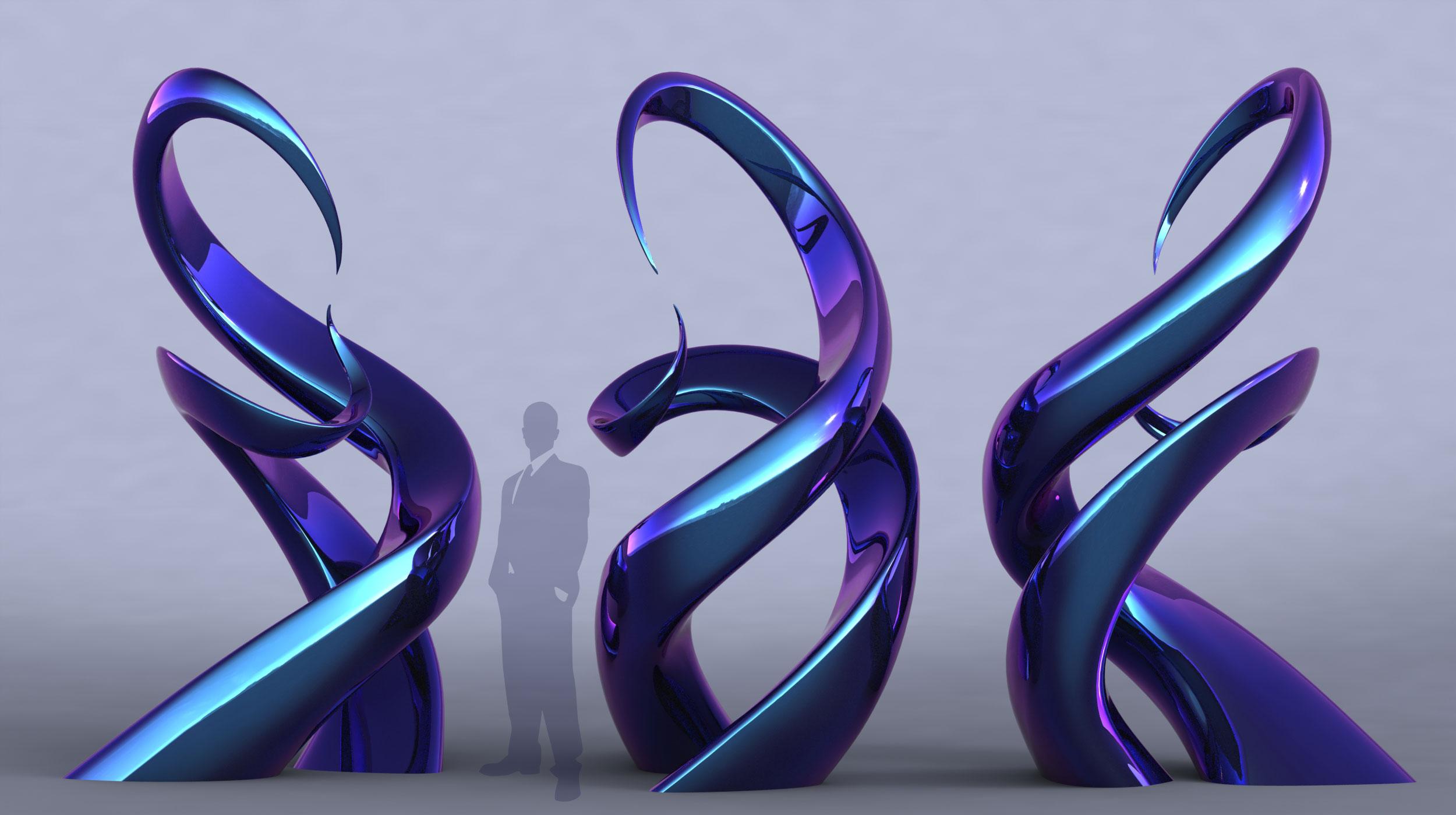 Unity modern sculpture contemporary public art for Art moderne sculpture