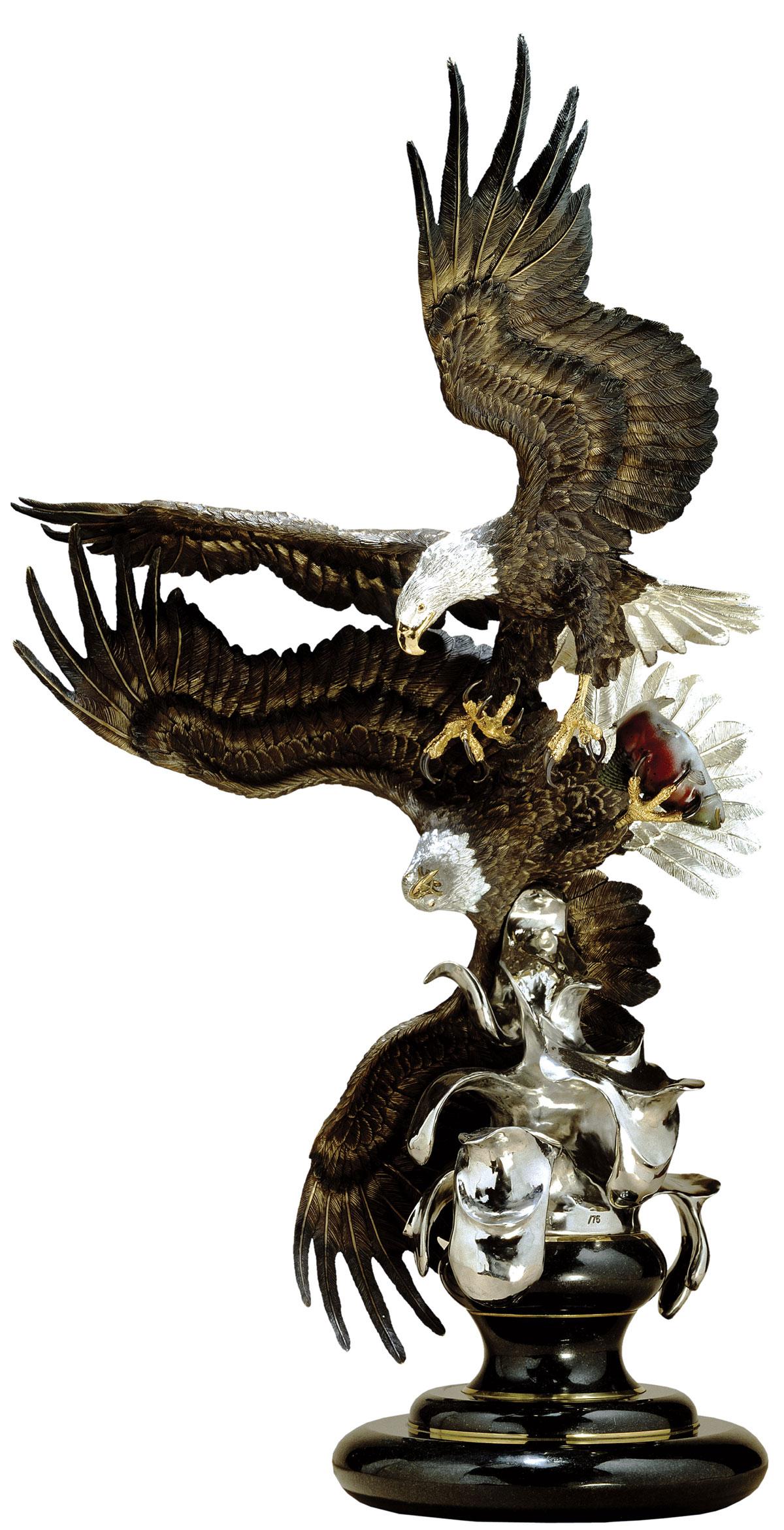 Where Eagles Dare Eagle Sculpture