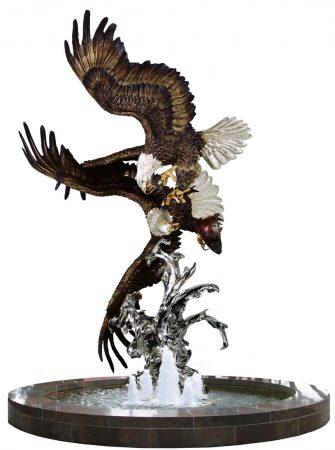 Where-Eagles-Dare-Sculpture-Monument